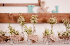 Wedding Place Cards by Life in Bloom