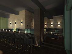 Study Of A Bar U0026 Lounge In Karlsruhe, Germany, ...