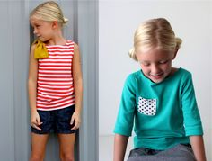 one bateau • two shirts • free patterns   MADE