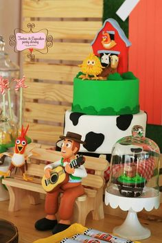 Baby Boy Birthday, Farm Birthday, 2nd Birthday Parties, Farm Theme, Farm Party, Ideas Para Fiestas, Animal Party, Lucca, Birthdays