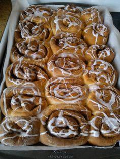 Moje Wypieki | Norweskie bułeczki cynamonowe