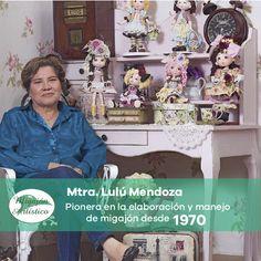 Mtra. Lulú es el pilar de este maravilloso proyecto llamado Migajón Artístico, sus años de experiencia lo dicen todo. ¿Quieres organizar algún taller de migajón y contar con su presencia, te invitamos a que nos contactes y trabajemos juntos. #MigajónArtístico #PorcelanaFría #PastaFlexible
