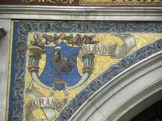 London building mosaic