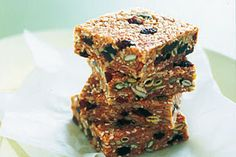home-made muesli bars from Natural Parenting