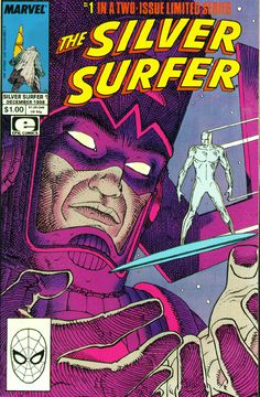 100 Best Comic Book Covers- pt. 4. <br /> <br />Shown is the Silver Surfer #1 cover by Moebius