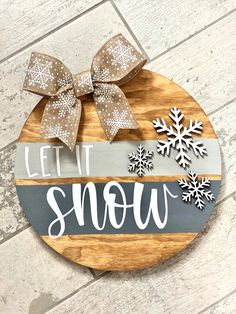 Christmas Projects, Holiday Crafts, Christmas Time, Christmas Ornaments, Etsy Christmas, Wooden Door Signs, Custom Wooden Signs, Wooden Door Hangers, Diy Wood Signs
