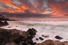 North shore sunset by James Binder