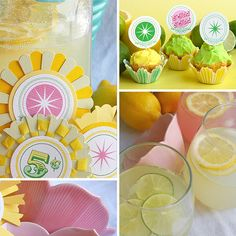dandy bread and candy: Free Lemonade Goodies- version for all ages