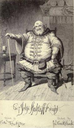 Act II scene iv 396, Falstaff (as King):Shall the son of England prove a thief and take purses?