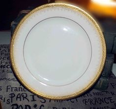 Fine ChinaCasual DinnerwareEntertainingTablewareDishesPorcelain & 18 pc Colin Cowie Dishes Greek Key Silver China White #ColinCowie ...