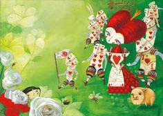 Lewis Carroll, Les Aventures d'Alice au pays des merveilles, Glenda Sburelin