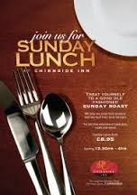sunday lunch restaurant poster - Google Search
