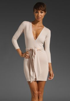 Simple nude dress. Perfection.