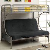 Found it at Wayfair - Prism Twin Over Futon Bunk Bed  $574.99
