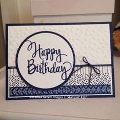 Stylised Birthday - Stampin' Up!