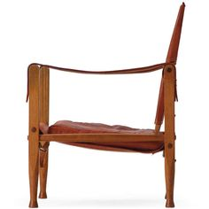 The Safari Chair By Kaare Klint | From a unique collection of antique and modern lounge chairs at https://www.1stdibs.com/furniture/seating/lounge-chairs/