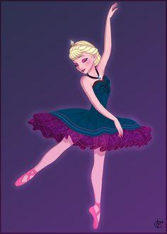 Ballerina Elsa… and I was thinking we had everything