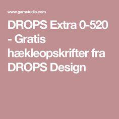 DROPS Extra 0-520 - Gratis hækleopskrifter fra DROPS Design