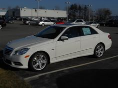 2012 Mercedes-Benz E350  58,000 dollars new – 19 mpg in the city - Photo taken 3/18/2012 by Steven Martin