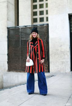 Annie Georgia Greenberg at Paris Fashion Week F/W 2014-15