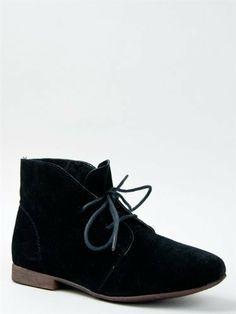 short black boots no heel