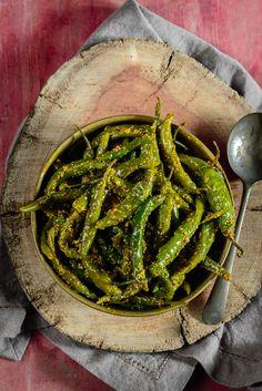 more besan bharwa bharwa mirch mirch recipe chillies बेसन ...