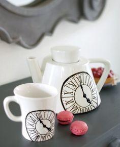 tasse à thé peinture sur porcelaine