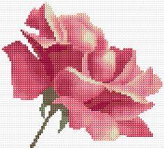 Cross Stitch | Rose xstitch Chart | Design