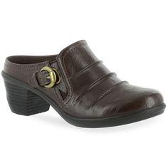 Easy Street Calm Women's Comfort Mules, Size: 8.5 N, Brown
