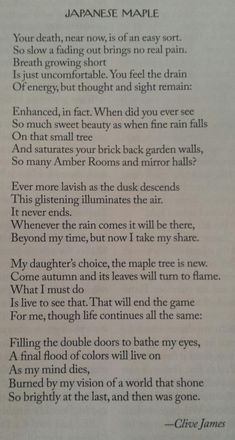Clive James New Yorker