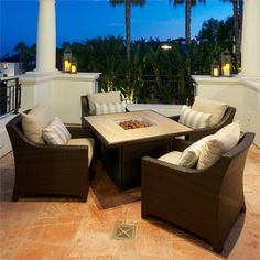 @Overstock - Sit back and relax around this functional fire conversation table. Enjoy drinks, dinner or conversation around the 19 inch square stainless steel burner surrounded by a 44 inch square marble top surface.http://www.overstock.com/Home-Garden/Slate-5-Piece-Fire-Table-Seating-Set-Patio-Furniture-by-RST/7744320/product.html?CID=214117 $3,499.99