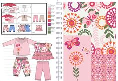 Total Concepts for Newborn Girls Summer Collection.