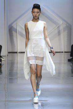 LIE - Seoul Fashion Week - Spring Summer 2015. Shop this style on portemode.com today!