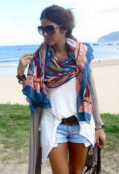 love big scarves