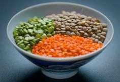 Lentils. Inexpensive and healthful.