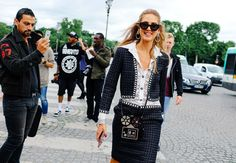 Chiara Ferragni in Chanel Vogue Phil Oh's Best Street Style Pics From the Paris Haute Couture Shows