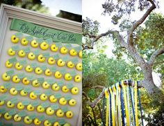 Have a Fall wedding coming up? Apples are in season and this is escort card setup is perfect and inexpensive for a Fall wedding! Green Wedding, Fall Wedding, Diy Wedding, Rustic Wedding, Ribbon Wedding, Wedding Ceremony, Wedding Color Schemes, Wedding Colors, Chic Halloween