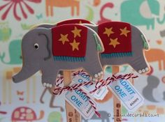 All the Fun of the Circus Favours