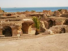 carthage. love north africa, must go to tunisia. maybe from barcelona?