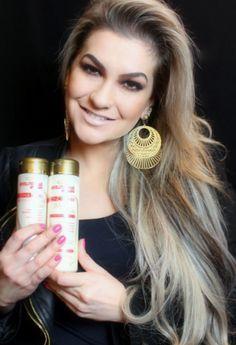 Alice Salazar dá dicas sobre o cuidado com o cabelo e de como fazer para equilibrar a sua oleosidade