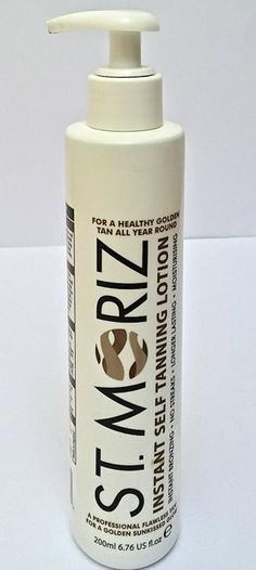 St. Moritz Instant Self Tanning Lotion