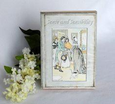 Jane Austen Book Favor Box Printable Instant Download
