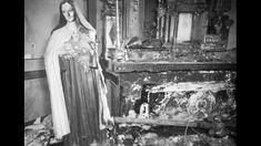 Spain - 1936. - GC - La quema de la Iglesia de San Juan de Albacete, incendiada el 17 de marzo de 1936.