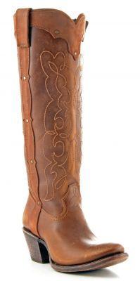 Womens Corral Westport Boots Tan via @Allens Boots