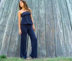 Floating Tube Pantsuit  hemp/organic cotton by gaiaconceptions, $155.00  YES!