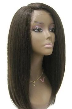 Vivica A. Fox Deeep Swiss Lace Front Wig - Lynn This fabulous 20 inch straight style wig is silky smooth a visibly undetectable, no one will know you're wearing a wig! Very resilient and can last all Hairstyles Haircuts, Weave Hairstyles, Black Hairstyles, Hairdos, Lace Front Wigs, Lace Wigs, Natural Hair Styles, Long Hair Styles, Wig Styles