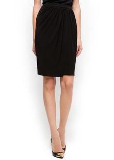 Mango Women`s Pleated wrapped skirt - Lorena $59.99