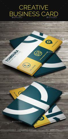Creative Business Card Template #design Download: http://graphicriver.net/item/creative-business-card/9318436?ref=ksioks