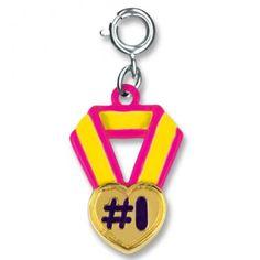 Heart Medal Charm - Shop CHARM IT!
