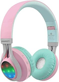 Wireless Headphones With Mic, Girl With Headphones, Kids Headphones, Wireless Headset, Lego Necklace, Versace Watches, Perfume Scents, Designer Baby, Bare Bears